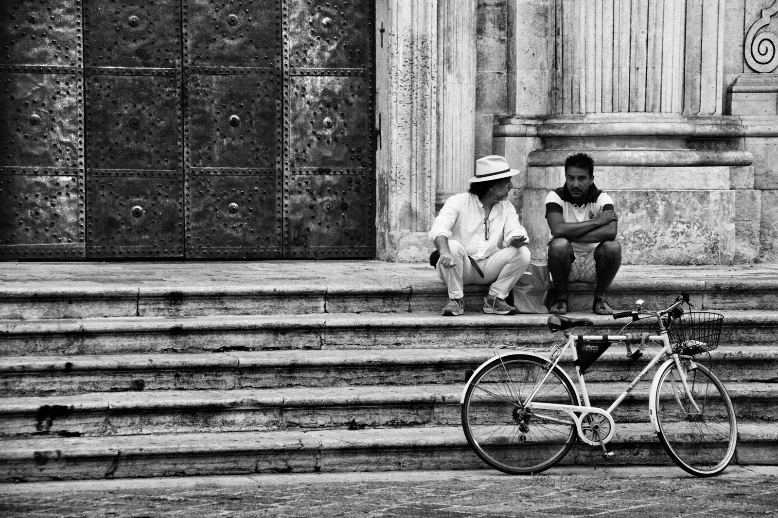 dialogo con bici