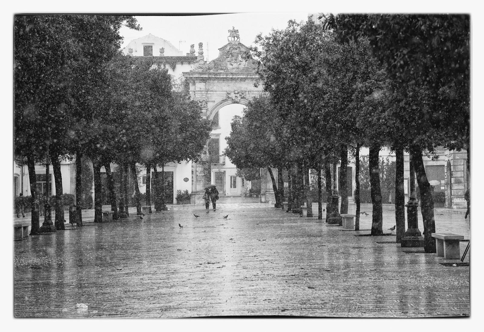nevicata a Martina Franca